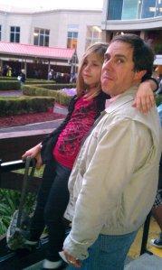 Steve Yates with niece Ava Lou Kaufman
