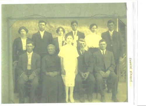 Very likely Helen Sheedy's Confirmation Day photo. The Sheedy's were members of Catholic Sacred Heart Parish.