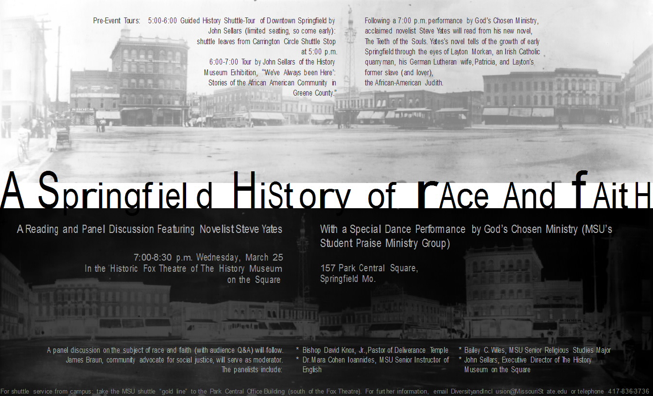 A Springfield History of Race and Faith | Fiction and History