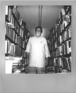 Fred Smith, of Choctaw Books // Impossible Project B&W // July 2014 by David McCarty